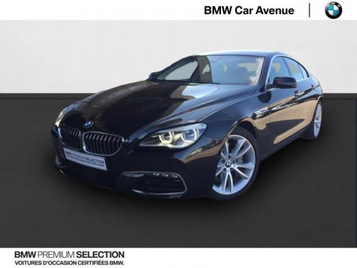 Used BMW Série 6 Gran Coupé 640dA 313ch Lounge Plus 2017 Saphirschwarz € 39,979 in Épinal