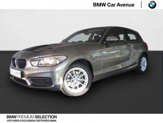Used BMW Série 1 116i 109ch Premiere 3p 2017 Platinum Silber € 16,479 in Épinal