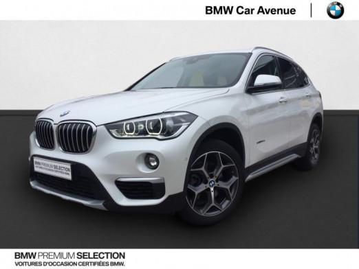 Occasion BMW X1 sDrive18dA 150ch xLine 2018 Mineralweiss 26939 € à Épinal