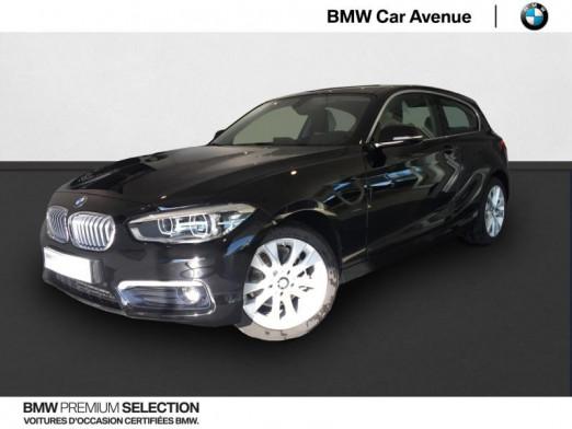 Occasion BMW Série 1 114d 95ch UrbanChic 3p 2017 Noir 18479 € à Épinal