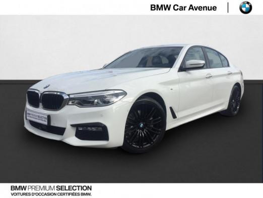 Occasion BMW Série 5 520dA xDrive 190ch M Sport Steptronic 2017 Alpinweiss 32839 € à Épinal