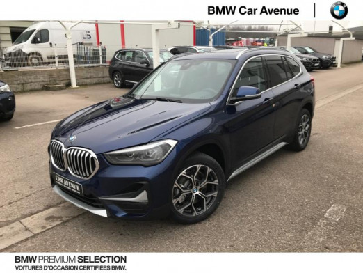 Occasion BMW X1 sDrive20dA 190ch xLine 2020 Mediterraneanblau 43990 € à Épinal