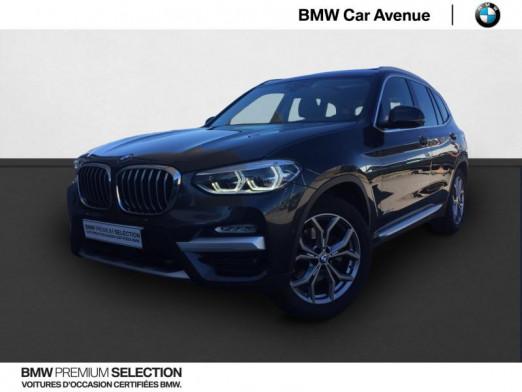 Occasion BMW X3 xDrive20dA 190ch xLine 2017 Sophistograu 36479 € à Épinal