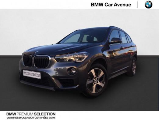 Occasion BMW X1 sDrive18i 140ch Lounge Euro6d-T 2018 Mineralgrau 21899 € à Épinal