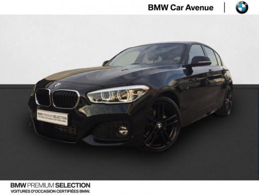 Occasion BMW Série 1 116i 109ch M Sport 5p Euro6d-T 2018 Saphirschwarz 21999 € à Épinal