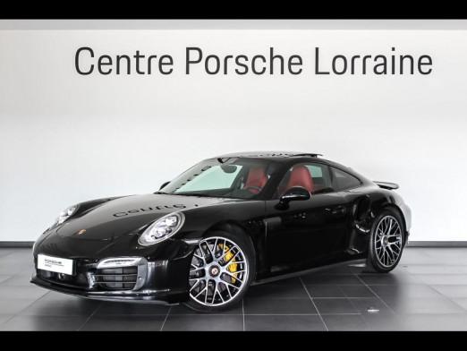 Occasion PORSCHE 911 Coupe Turbo S 2015 Noir 134900 € à Lesménils