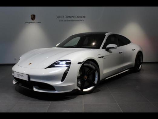 Occasion PORSCHE Taycan 680ch Turbo 2020 Blanc Carrara métallisé 149900 € à Lesménils