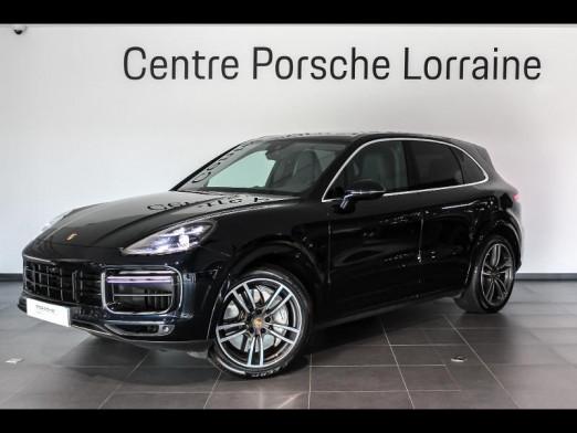Used PORSCHE Cayenne 4.0 550ch Turbo 2018 Bleu Moonlight € 104,900 in Lesménils