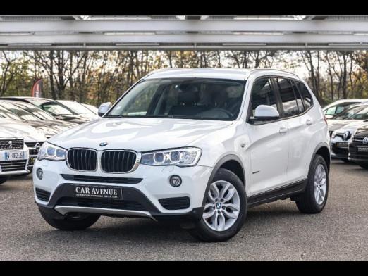 Occasion BMW X3 xDrive 20dA 190 Cuir Gps 80000km Gtie 1an 2014 Blanc 24490 € à Metz
