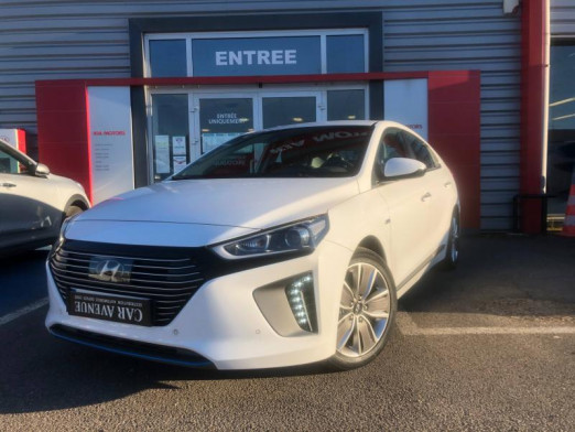 Occasion HYUNDAI Ioniq Hybrid 141 Executive 69100km Garantie 1an 2017 Polar White 17490 € à Metz