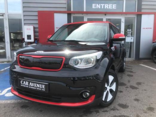 Occasion KIA Soul EV EV 110 Gps Camera Clim Garantie 2024 2017 Noir Abyssinie / Toit rouge 16490 € à Metz
