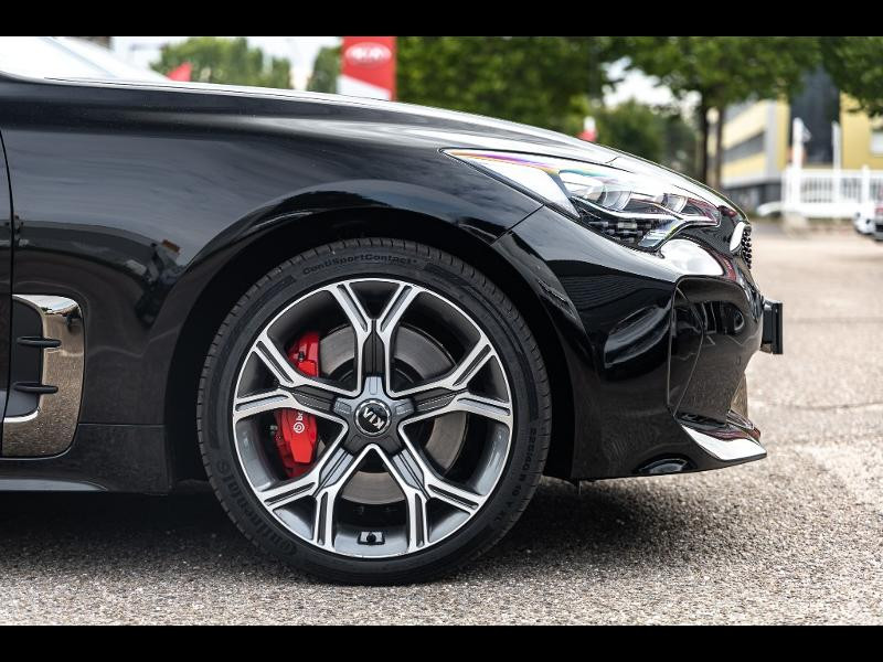 Occasion KIA Stinger 3.3 V6 T-GDi 366 IGT 4x4 BVA8 10000km Gtie 2025 2018 AURORA BLACK 46990 € à Forbach