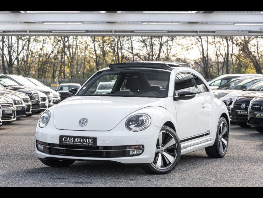 Occasion VOLKSWAGEN Coccinelle TDI 150 Toit ouvrant Gtie 1an 2015 Blanc 17 990 € à Forbach