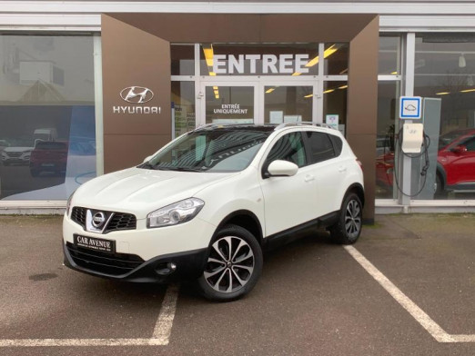 Occasion NISSAN Qashqai 2.0 140ch Connect Gps Gtie 1an 2012 BLANC 10 990 € à Forbach