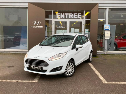 Occasion FORD Fiesta EcoBoost 100 Edition 5p 40000km Gtie 1an 2015 Blanc 9 490 € à Forbach