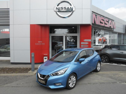 Used NISSAN Micra 1.0 IG-T 100ch N-Connecta 2019 POWER BLUE € 14,490 in Alzingen