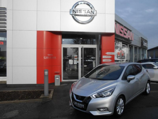 Used NISSAN Micra 1.0 IG-T 100ch N-Connecta 2019 2020 PLATINIUM SILVER € 15,490 in Alzingen