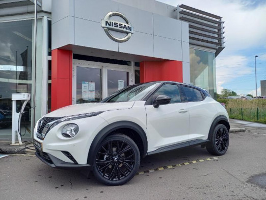Used NISSAN Juke 1.0 DIG-T 114ch Enigma DCT 2021 2021 BLANC Nacré € 24,990 in Schifflange