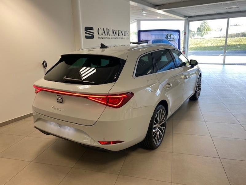 Occasion SEAT Leon 2.0 TDI 150ch Xcellence DSG 2020 Blanc Nevada 33990 € à Haguenau