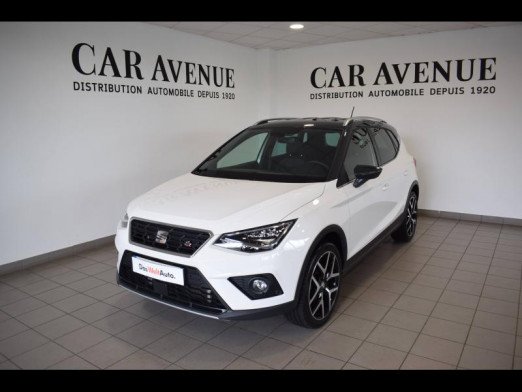 Used SEAT Arona 1.0 EcoTSI 115ch Start/Stop FR DSG Euro6d-T 2020 Blanc Candy/Toit Gris Magnétique € 20,989 in Haguenau