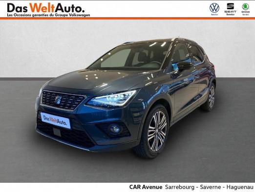 Occasion SEAT Arona 1.0 EcoTSI 95ch Start/Stop Xcellence Euro6d-T 2019 GRIS MAGNETIQUE/NOIR MINUIT 18489 € à Sarrebourg