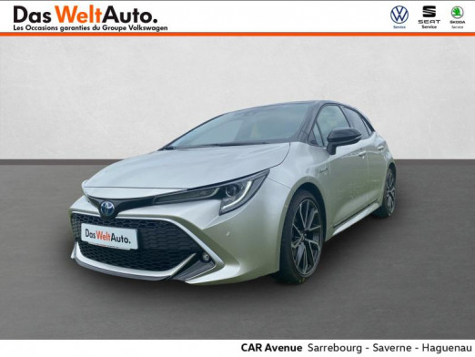 Occasion TOYOTA Corolla 180h Collection MY20 2019 Gris Argent Bi-ton 24 989 € à Sarrebourg