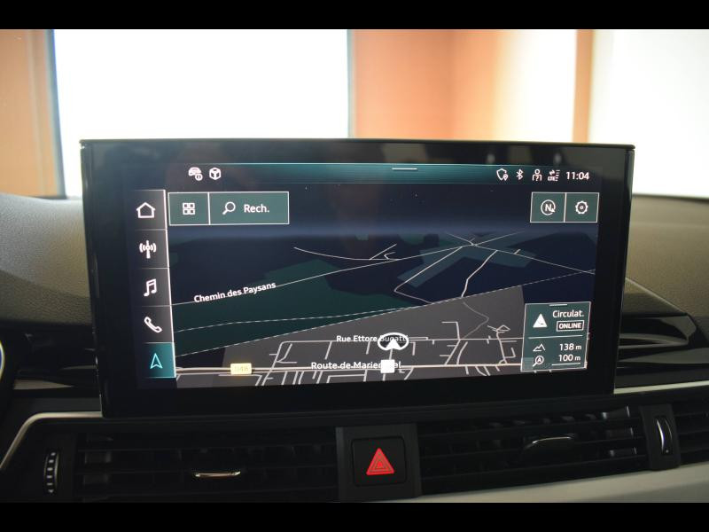 Occasion AUDI A4 Avant 35 TDI 163ch S line S tronic 7 9cv 2020 Blanc glacier 39899 € à Haguenau