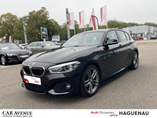 Occasion BMW Série 1 118d 150 ch M Sport 5p 2017 Saphirschwarz 21890 € à Haguenau