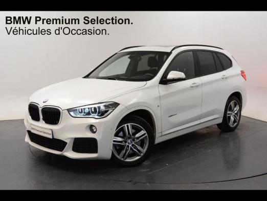 Occasion BMW X1 xDrive20dA 190ch M Sport 2017 Blanc 32950 € à Sarrebourg