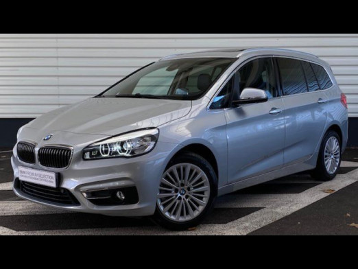 Occasion BMW Série 2 Gran Tourer 220iA 192ch Luxury 2017 Glaciersilber 25990 € à Sarrebourg