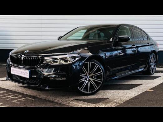 Occasion BMW Série 5 530dA xDrive 265ch M Sport Steptronic 2017 Saphirschwarz 41950 € à Sarrebourg