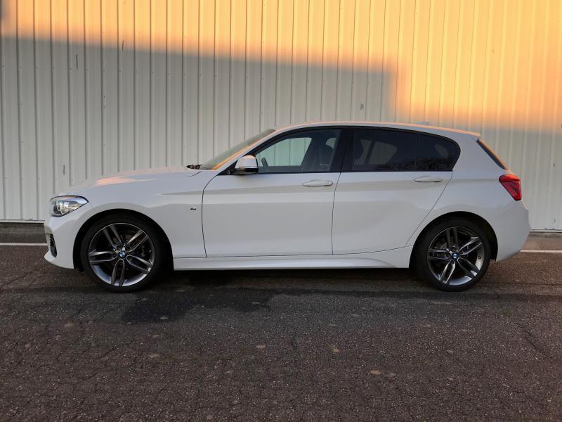 Occasion BMW Série 1 116i 109ch M Sport 5p 2017 Blanc 19990 € à Sarrebourg