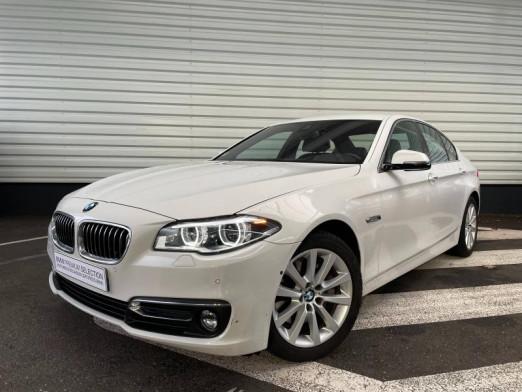 Occasion BMW Série 5 530dA xDrive 258ch Luxury 2015 Alpinweiss 31980 € à Sarrebourg