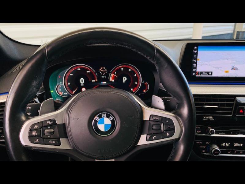 Occasion BMW Série 5 530dA xDrive 265ch M Sport Steptronic 2017 Saphirschwarz 41490 € à Sarrebourg