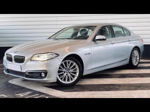 Occasion BMW Série 5 530dA xDrive 258ch Luxury 2016 Glaciersilver 30490 € à Sarrebourg