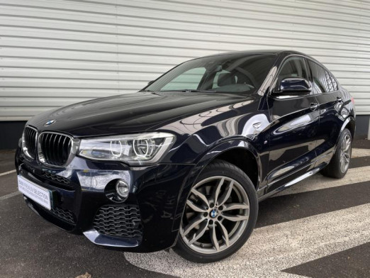 Occasion BMW X4 xDrive20dA 190ch M Sport 2018 Carbonscwharz 37990 € à Sarrebourg