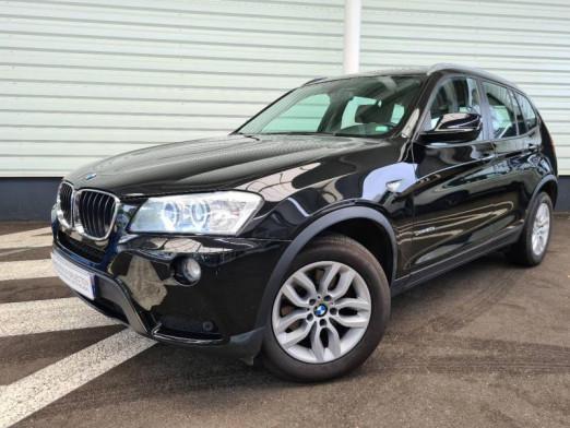 Occasion BMW X3 xDrive20dA 184ch Excellis 2013 Schwarz 19990 € à Sarrebourg