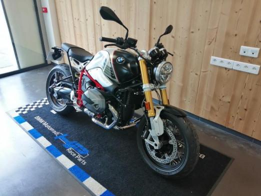 Used BMW R 1200 NineT 2021 Option 719 Night black matt/Aluminium matt € 16,990 in Lesménils
