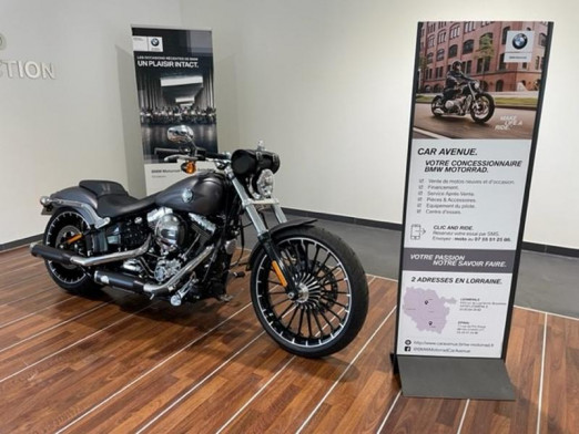 Used HARLEY-DAVIDSON Softail Breakout 1690 Couleur ABS 2017 2017 GRISE € 20,990 in Lesménils