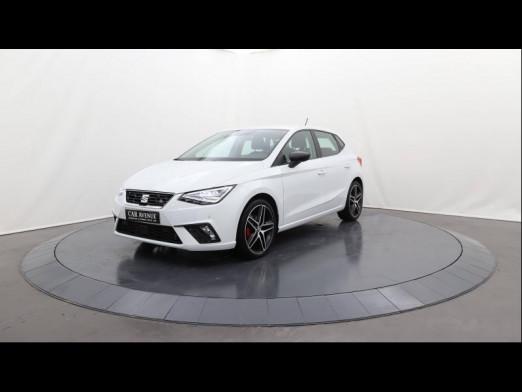Occasion SEAT Ibiza 1.5 TSI 150 FR CarPlay Camera Gtie 12mois 2018 Blanc Candy 17490 € à Lesménils