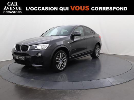 Occasion BMW X4 xDrive20dA 190 M Sport 2017 Saphirschwarz 29990 € à Lesménils