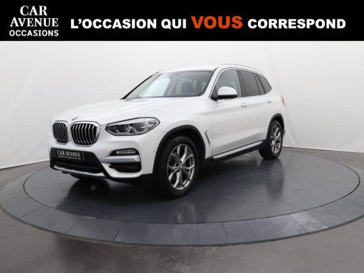 Occasion BMW X3 xDrive20dA 190 xLine 2019 Alpinweiss 41990 € à Lesménils