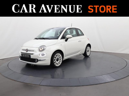 Used FIAT 500 0.9 8v TwinAir 85 Star 2020 Coloris Perlé tri-couche Ice White € 14,290 in Lesménils