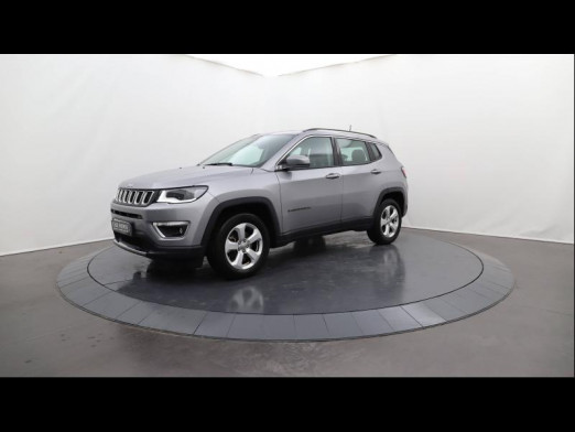 Used JEEP Compass 1.4 MultiAir 140 Limited 4x2 Cuir Gps 2017 Billet Silver € 18,790 in Lesménils