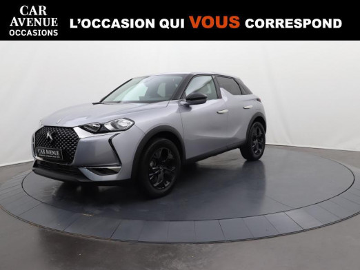 Used DS DS 3 Crossback BlueHDi 100 So Chic Carplay 2020 Gris Artense (M) € 22,490 in Lesménils