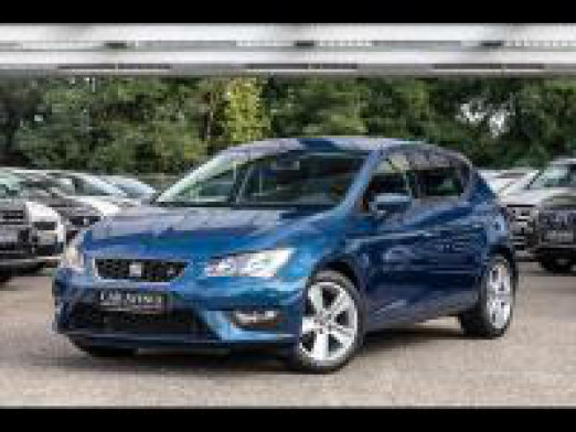 Occasion SEAT Leon 1.4 TSI 125 ch FR Start&Stop garantie 1 an 2014 Bleu Apolo 13990 € à Sarreguemines