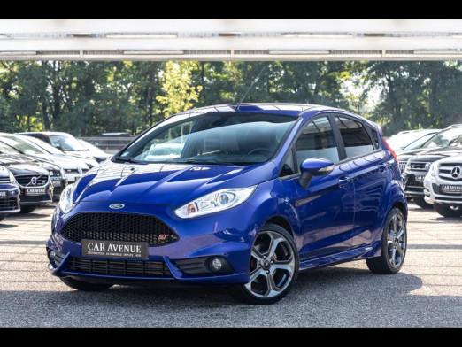 Occasion FORD Fiesta 1.6 EcoBoost 182 ch ST GPS RADAR 2016 Premium Bleu Performance 17490 € à Sarreguemines