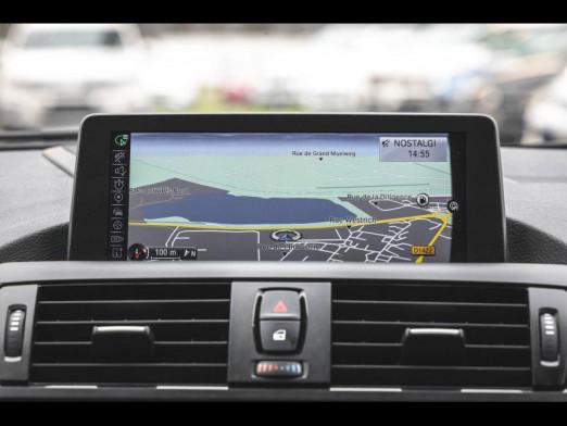 Occasion BMW Série 1 125i 218 Sport 5p gps camera xenon gtie 1 an 2014 Tiefseeblau 18489 € à Mulhouse
