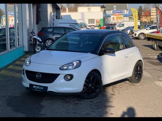 Occasion OPEL Adam 1.4 Twinport 87 Black Edition carplay gps radar ar Garantie 1 an 2019 Blanc  Saturday White Fever  13590 € à Mulhouse