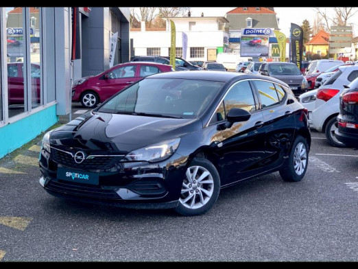 Occasion OPEL Astra Turbo 130 Elegance carplay 12 000kms Garantie 1 an 2020 Noir Profond 18590 € à Mulhouse